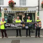 'Spot The Oddity' in Bideford's Mill Street for your chance to win £100
