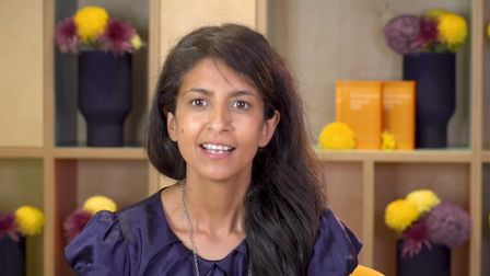 Ex Blue Peter presenter Konnie Huq was the main host of the education awards.