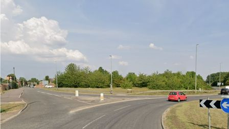 The A507 and Norton Road were closedon Friday (July 16) after a collision involving a woman in her 20s on a motorcycle