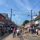 Regent Road Great Yarmouth on Freedom Day