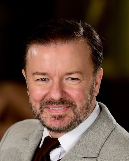 Comedian Ricky Gervais plays a warm up gig at the O2 Forum Kentish Town for his new show SuperNature