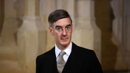 Britain's Leader of the House of Commons Jacob Rees-Mogg attends the State Opening of Parliament in