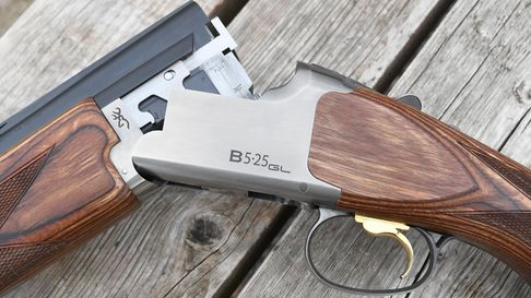Browning 525GL gun testThe plain silver action is perfectly acceptable – I would much rather have