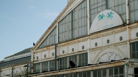 Decay at Great Yarmouth's Winter Gardens