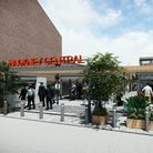 A computer-generated image shows what the new entrance at Hackney Central station will look like.