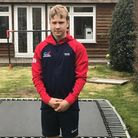 Brookmans Park's Hugo Thomas is hoping to be one of the next stars of British diving.