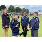 All smiles for Worle Community School pupils