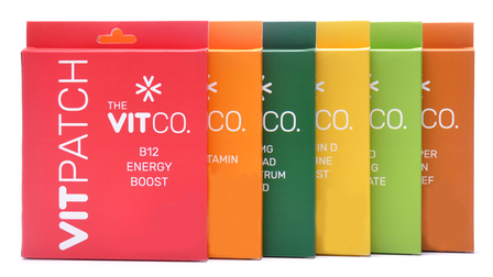 Vitamin patches provided by the VitCo in Lancashire