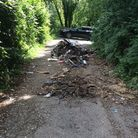 Stuart Bowering of Hawkfield Road in Bristol has been given a suspended prison sentence for fly-tipping in Long Ashton.