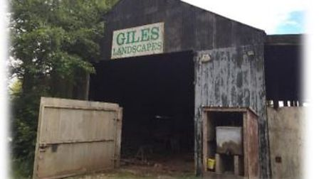 Former Giles Landscaping at Welney where a heritage centre and campsite has been agreed by planners.