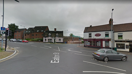 There will be multi-way temporary signals at the junction of Eaton Street,Bluebell Road and Church Lane