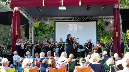 Sheringham Little Theatre hosted a classical concert at Mannington Hall.