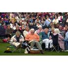 Some of the audience at the Prom in the Park, in Christchurch Park, Ipswich in 2005