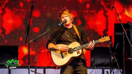 The Ed Sheeran Experience will be appearing at Cambridge Foodies Festival.