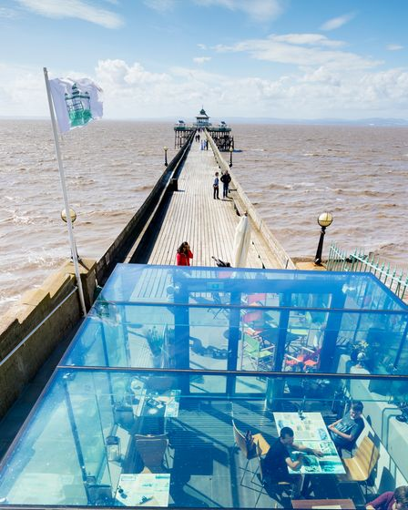 Clevedon Pier opens Glass Box cafe with stunning views
