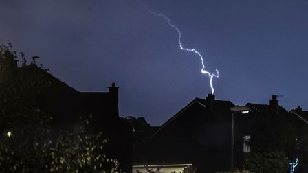The Met Office has warned of thunderstorms that could lead to flooding and power cuts onTuesday, July 20.