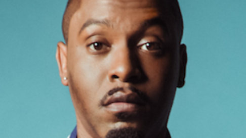 Dane Baptiste is performing at Laugh in the Park.