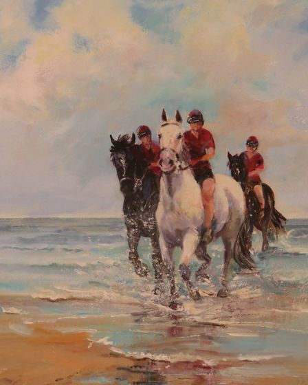 Cavalry Holiday by Juliet Hodgson