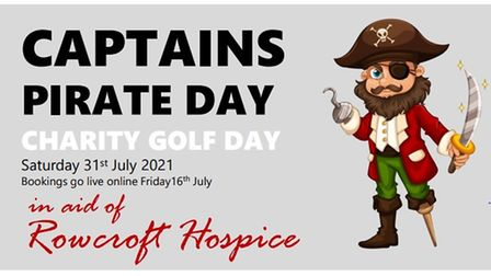 Pirate day advertising poster