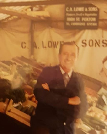 C.A Lowe was selling at Cambridge Market in the 1920s.