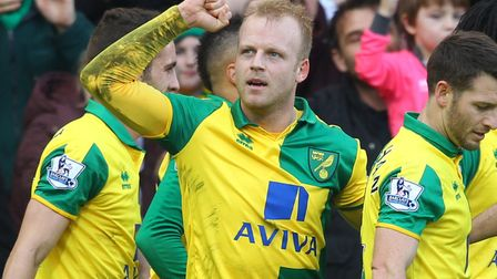Steven Naismith scored against Liverpool on his debut for Norwich
