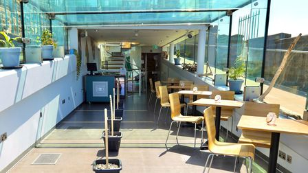 Clevedon Pier to open gourmet Glass Box cafe