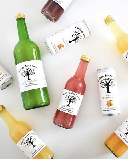 Cambridge Juice Company started making their own juices five years ago