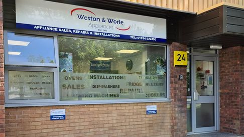 Weston and Worle Appliances has opened its showroom.