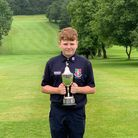 Worlebury junior Troy Young won theU14 County Championship Trophy