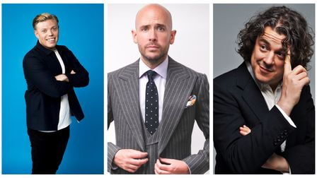 Rob Beckett, Tom Allen and Alan Davies are among the comedians set to appear atSt Albans Comedy Garden.