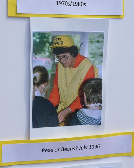 Pictures from dinner lady Cynthia Clare's almost 50 years at Worstead C of E Primary School. Picture