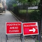 The footpath has been closed for almost 2 months