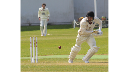 Ryan Davies scored 50 from 31 deliveries for Weston against North Perrott.