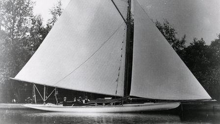 Maidie, then called the Nathalie, in 1904