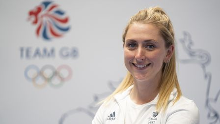 Laura Kenny during a kitting out session for the Tokyo Olympics 2020 at the Birmingham NEC, UK. Pict