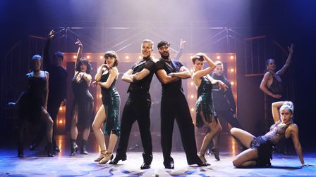 Anton Du Beke and Giovanni Pernice dazzle in their 'Him and Me' tour.