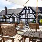 The front of the White Lion in Cheshire