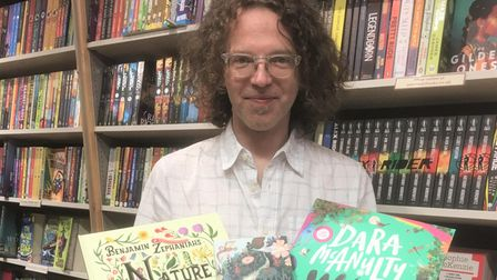 Carl's top three summer reads for children