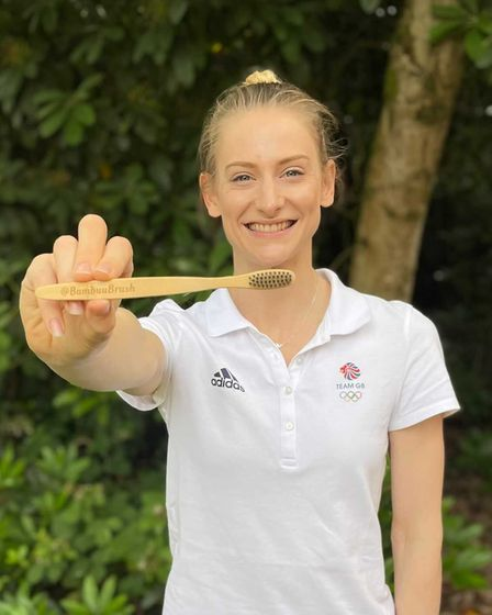 Hitchin-based @BambuuBrush's collab withBig Plastic Pledge and TeamGB aims to inspire people to make simple changes