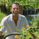 Charles Albert who started growing vegetables as a form of therapy has been told to dig them up or f