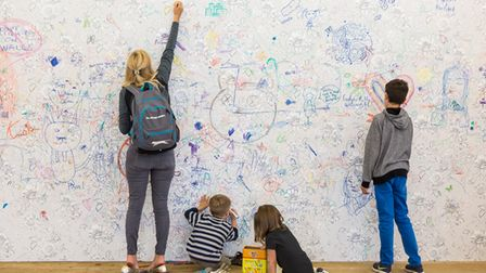 Mega Please Draw Freely is on at Tate Modern, July 24 – August 29.