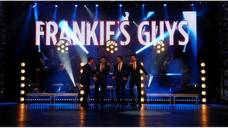 Frankie's Guys will take to the stage with their celebration of Frankie Valli and the Four Seasons.