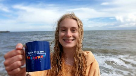 Maddy Ellis, from Little Paxton, will swim the Channel in September.