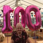 Audrey Brooks has been celebrating her 100th birthday