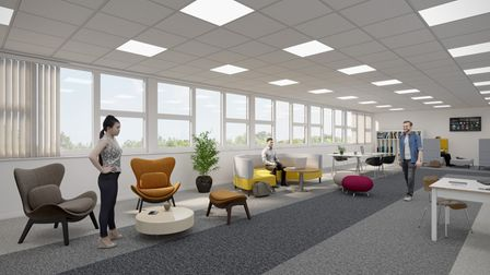 psychology suite at the University of Suffolk's new health and wellbeing quarter