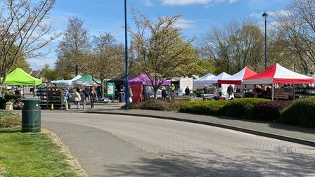 St Ives Market will return to Market Hill at the beginning of August