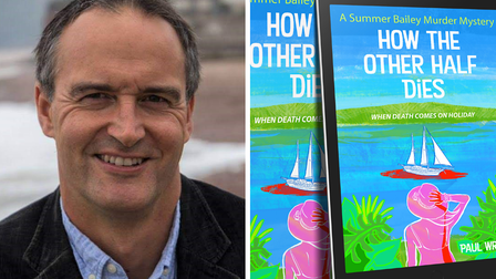 How The Other Half Dies is Paul Wright's first murder mystery novel