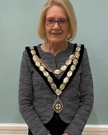 Judy Anscombe, former deputy mayor, has taken over as the head of Swaffham Town Council as councillo
