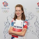 Lizzie Bird during the kitting out session for the Tokyo Olympics 2020
