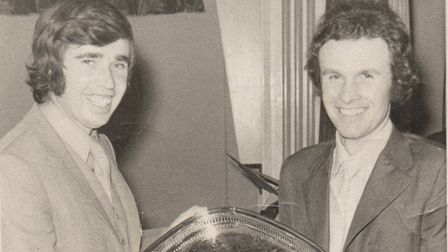 Dave Naylor was Havering Sports Council's sports personality of the year in 1970